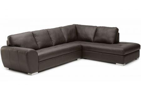 Palliser Kelowna Series Black Sofa Sectional - 77857KELOWNA