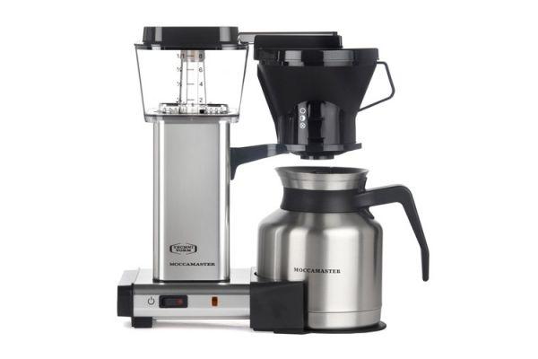 Large image of Technivorm Moccamaster Polished Silver Coffee Maker - 79212
