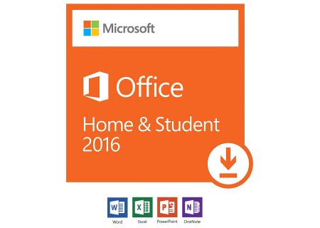 Microsoft Office Home & Student 2016 For PC - 79G-04287
