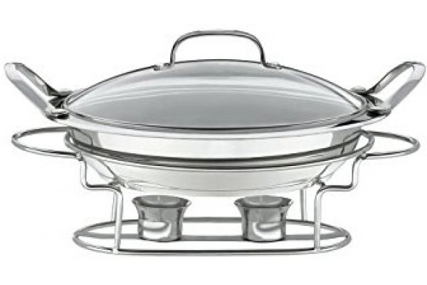 """Large image of Cuisinart 11"""" Round Buffet Server - 7BSR-28"""