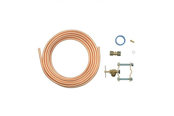 Large image of Whirlpool Copper Refrigerator Water Supply Kit - 8003RP