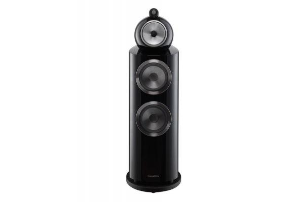 Large image of Bowers & Wilkins 800 Series Diamond Gloss Black 3-Way Floorstanding Speaker (Each) - FP37508