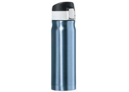 925492fb983 Oggi Caliber 16 Oz. Blue Stainless Steel Travel Flask - 80425