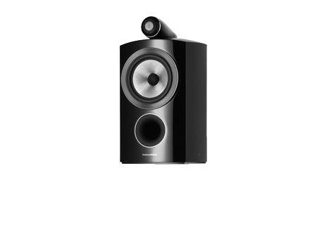 Bowers & Wilkins 800 Series Compact Diamond Gloss Black Bookshelf Speakers  - FP37478