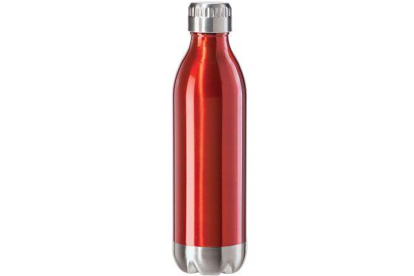 Oggi 17oz Calypso Lustre Double Wall Red Sports Water Bottle - 8085.2