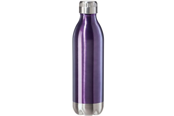 Oggi 17oz Calypso Lustre Double Wall Purple Sports Water Bottle - 8085.8