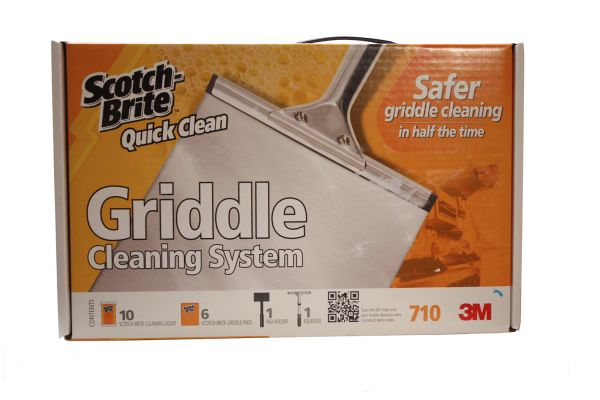 Large image of Wolf Scotch-Brite Cleaning Kit For Griddles - 812278