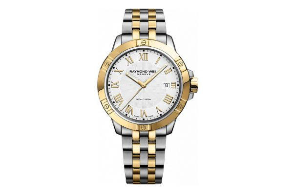 Large image of Raymond Weil Tango Two-Tone Mens Watch - 8160-STP-00308