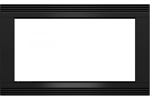 """Large image of Wolf 27"""" Black Glass E Series Microwave Trim Kit - 820036"""