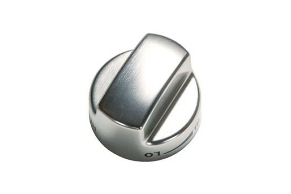 """Large image of Wolf 30"""" Gas Range Stainless Steel Knobs  - 822193"""
