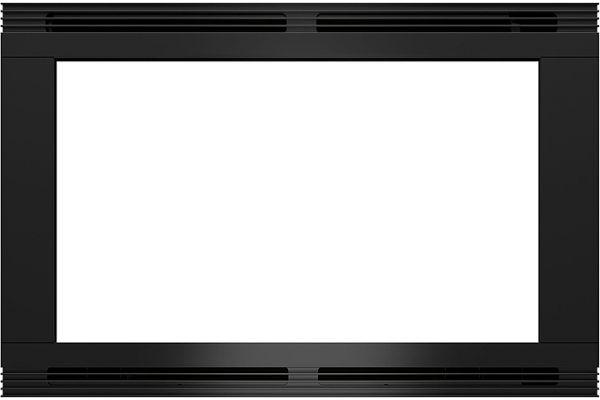 "Large image of Wolf 30"" Black M Series Microwave Trim Kit - 824643"