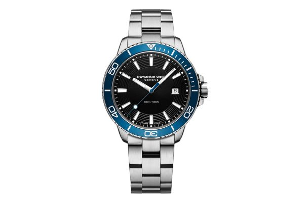 Large image of Raymond Weil Tango 42mm Stainless Steel Mens Watch - 8260ST320001