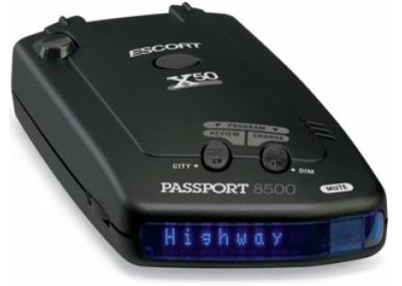Escort - 8500 X50 - Radar/Laser Detectors
