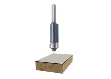 "Bosch Tools 1/2""x 1"" Carbide Tipped 3-Flute Flush Trim Bit - 85216M"