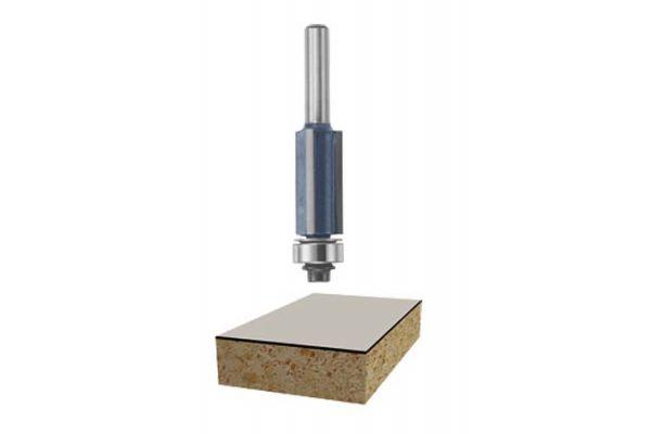 "Large image of Bosch Tools 1/2""x 1"" Carbide Tipped 3-Flute Flush Trim Bit - 85216M"