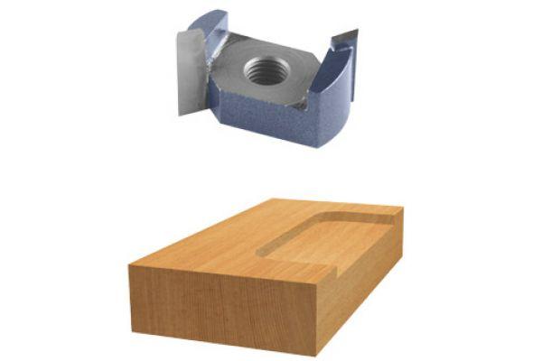 "Large image of Bosch Tools 1-1/4"" X 5/8"" Carbide Tipped Hinge Mortising Bit - 85238M"
