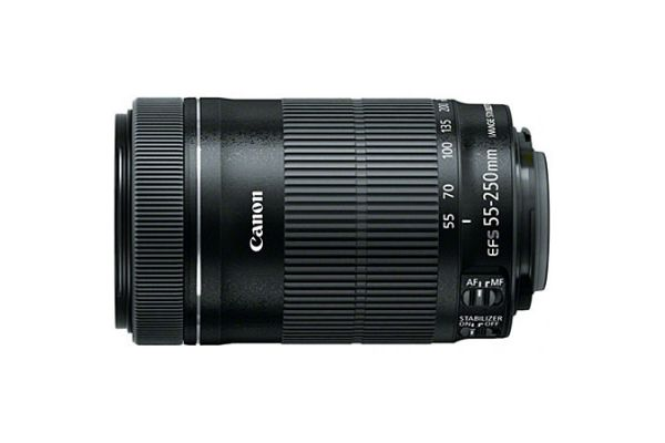 Canon EF-S 55-250mm f/4-5.6 IS STM Camera Lens - 8546B002