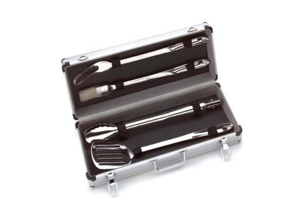 Large image of All-Clad Copper Core Collection 5-Piece Barbecue Tool Set - 8700800667