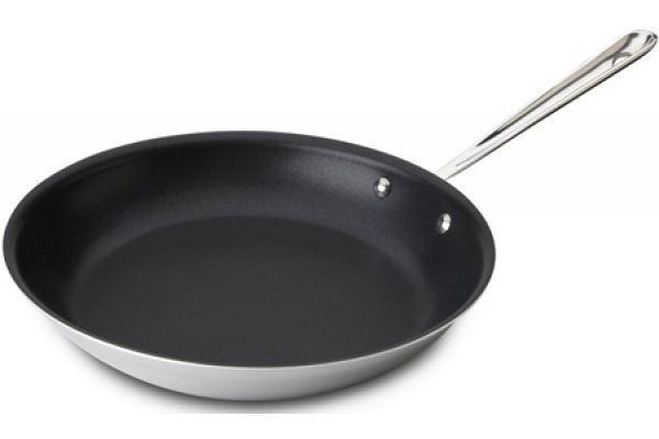 """Large image of All-Clad Stainless 12"""" Nonstick Fry Pan - 8701004455"""