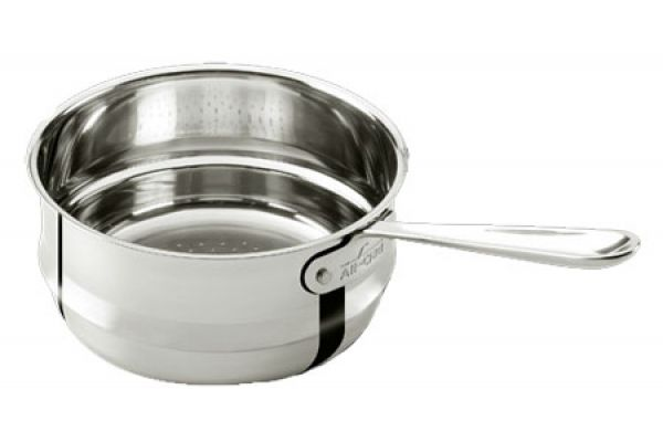 All-Clad 3 Qt Stainless Steel Universal Steamer Insert  - 8701004547