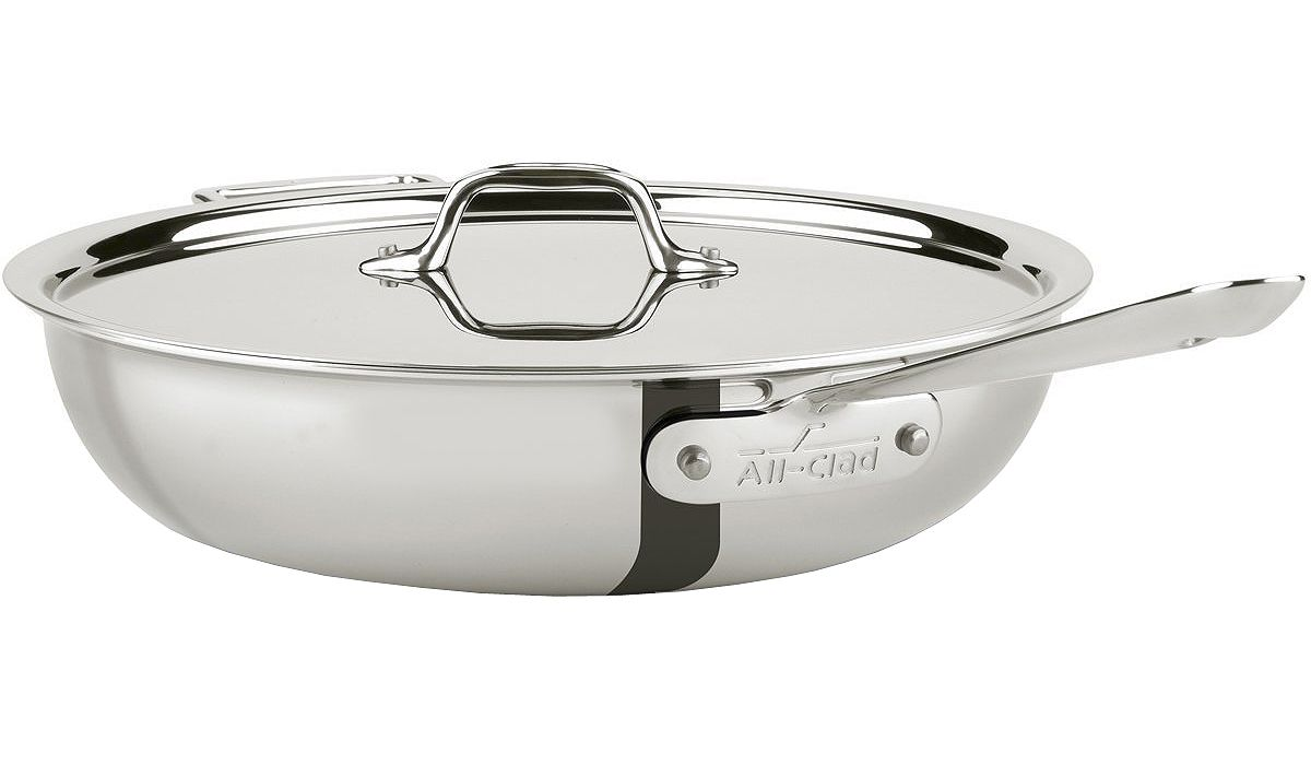 All Clad Stainless 4 Quart Weeknight Pan 8701005075