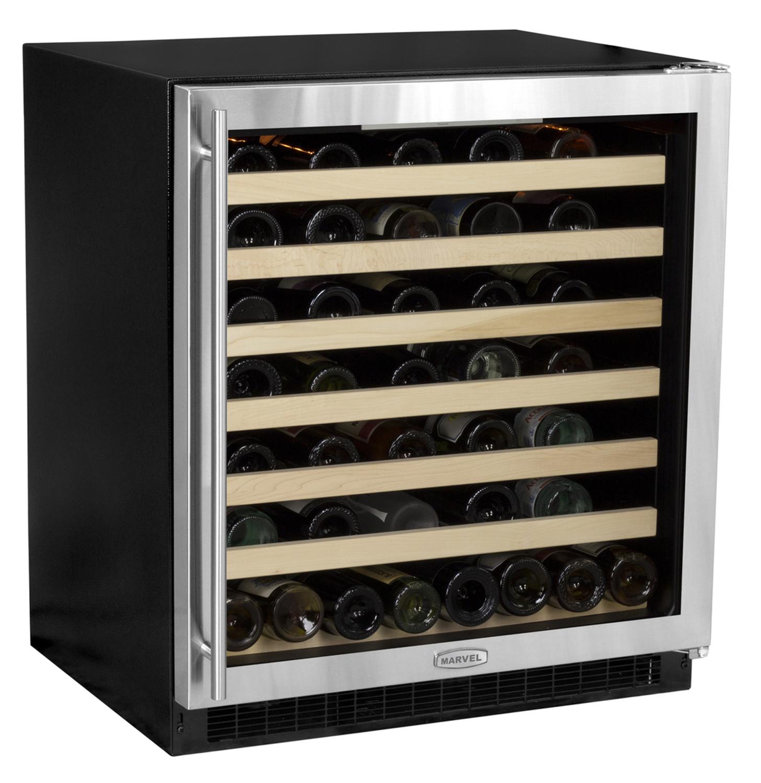marvel 30 quot single zone wine cellar 8swce bs g lr