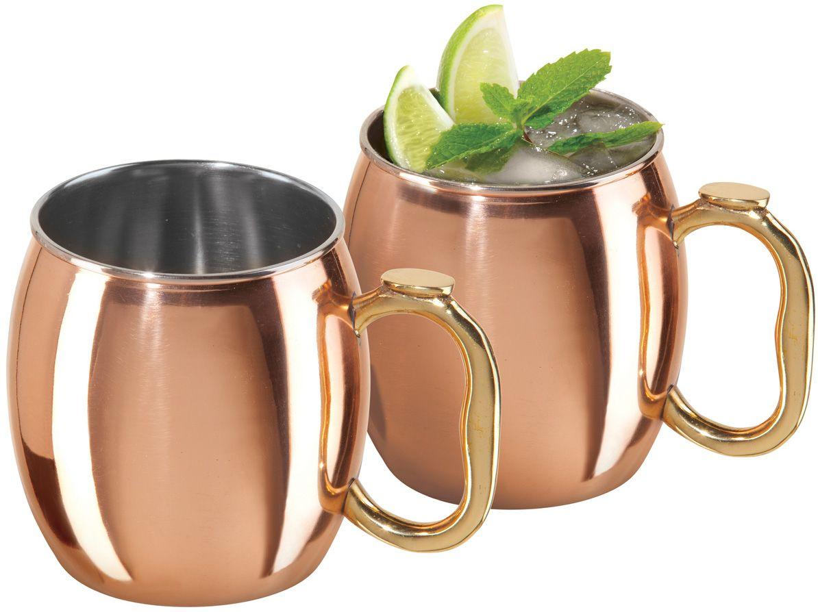 Oggi Copper Moscow Mule Mugs 9010