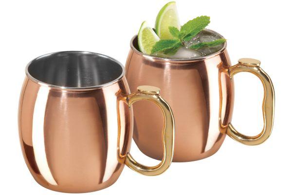 Oggi Copper Moscow Mule Mugs - 9010