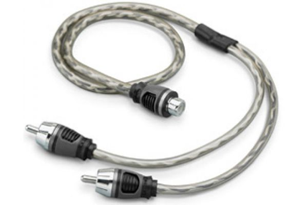 JL Audio Pair Audio Y-Adapter Cable - XD-CLRAICY-1F2M
