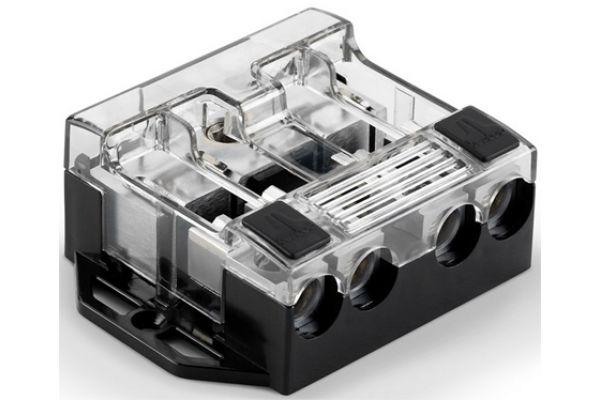 Large image of JL Audio 4-Way Fused Power Distribution Block - XDFDBU4