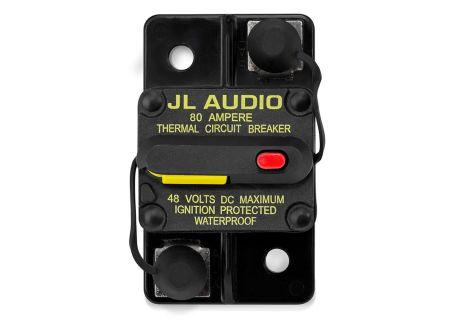 JL Audio 80 Amp Marine Circuit Breaker - XMD-MCB-80