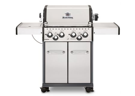 Broil King Baron S490 Stainless Steel Natural Gas Grill  - 922587
