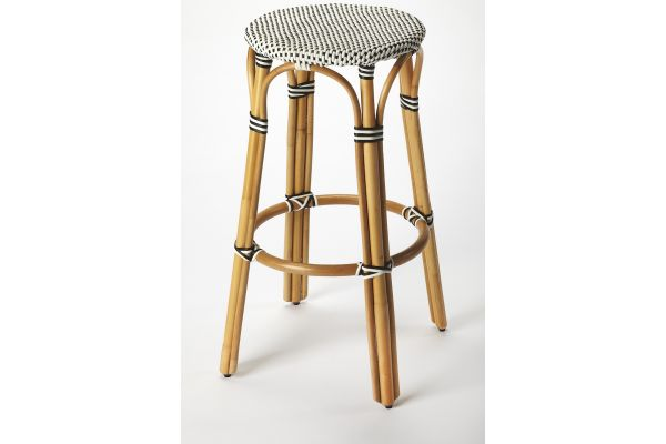Large image of Butler Specialty Company Tobias Black Bar Stool - 9370295