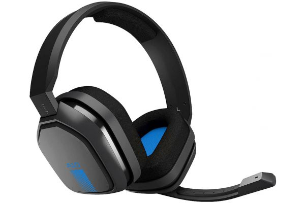 Astro A10 Grey/Blue Wired Headset For PS4 - 939-001509