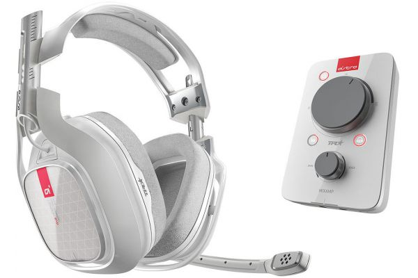 Astro A40 White TR Headset + MixAmp Pro TR For PC/Mac - 939-001512