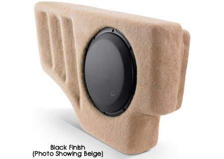 JL Audio Mid-Sized SUV Ebony Subwoofer Stealthbox - SB-GM-TRLBLZR/10W3V3/DG