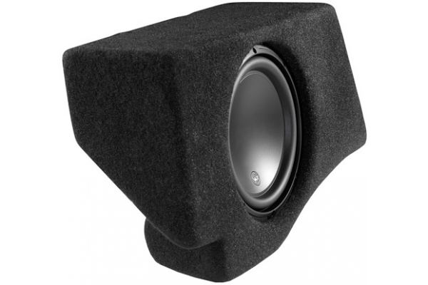 JL Audio Gray Stealthbox Subwoofer for 2007-Up Ford Expedition EL And Lincoln Navigator L - 94343