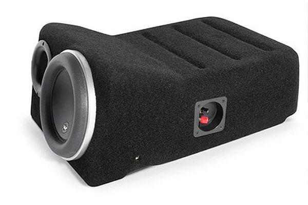 JL Audio Black Toyota  Tundra Double Cab Stealthbox Subwoofer - 94346