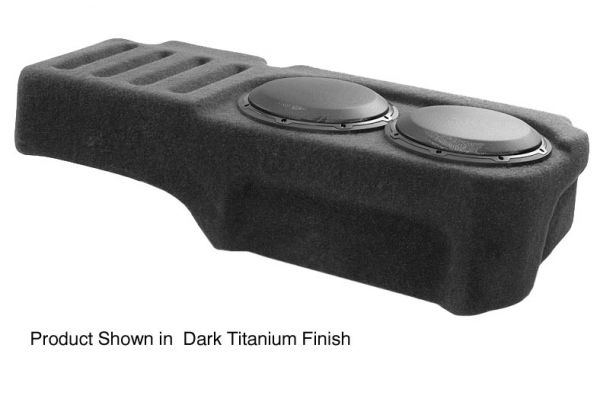 Large image of JL Audio Stealthbox For 2007-2013 Chevrolet Silverado / GMC Sierra Extended Cab Trucks - SB-GM-SLVEXT2/10W1V3/DG