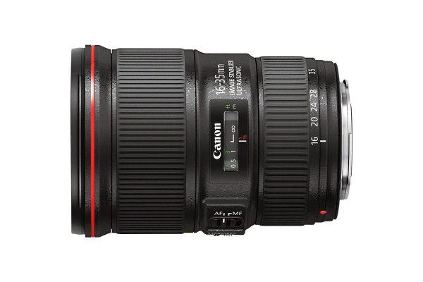 Large image of Canon EF 16-35mm f/4L IS USM Lens - 9518B002