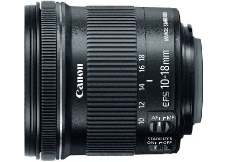 Canon EF-S 10-18mm f/4.5-5.6 IS STM Lens - 9519B002