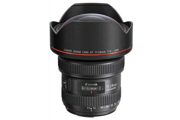 Large image of Canon EF 11-24mm f/4L USM Full Frame Camera Lens - 9520B002