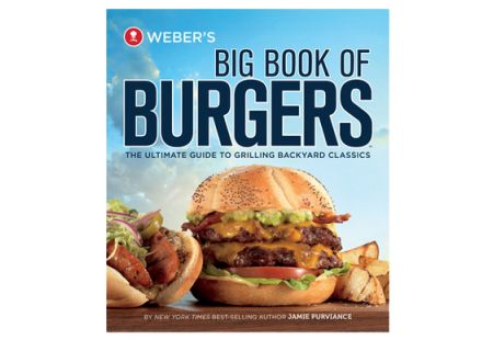 Weber's Big Book of Burgers Cookbook - 9553