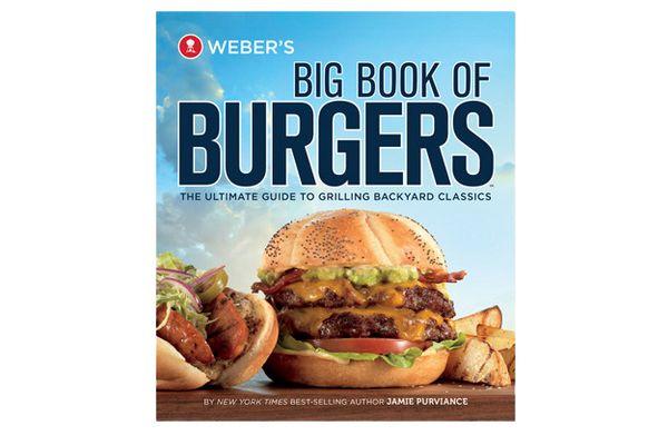 Weber's Big Book of Burgers Cookbook - 9553