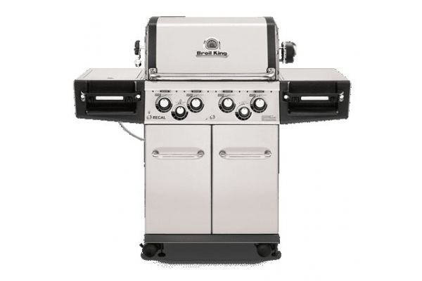 Broil King Regal S490 Pro Stainless Steel Liquid Propane Gas Grill  - 956344