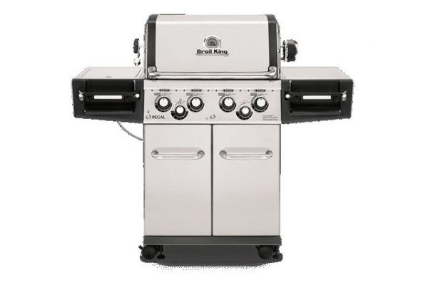 Large image of Broil King Regal S490 Pro Stainless Steel Natural Gas Grill  - 956347