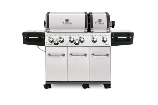 Large image of Broil King Regal XLS Pro Stainless Steel Liquid Propane Gas Grill - 957344 - 957344