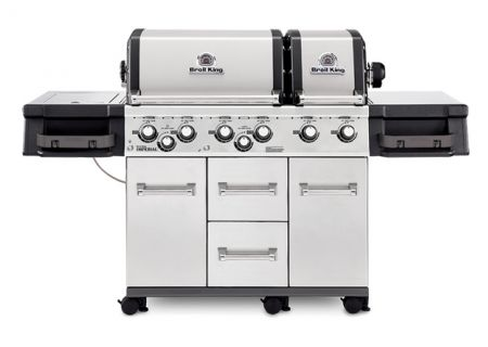 Broil King Imperial XLS Stainless Steel Liquid Propane Gas Grill  - 957884