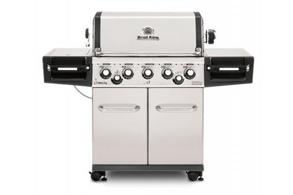 Broil King Regal S590 Pro Stainless Steel Liquid Propane Gas Grill  - 958344