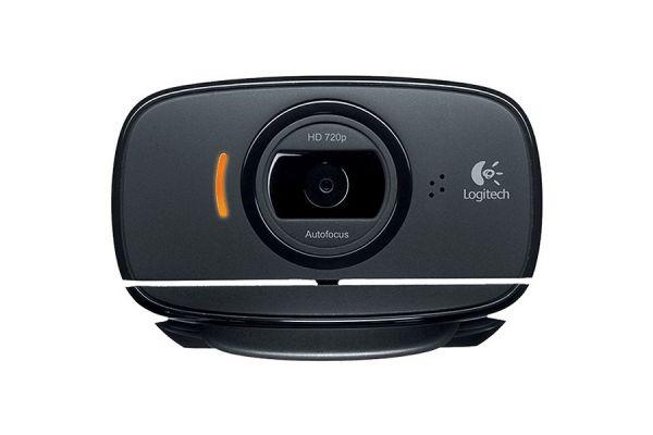 Large image of Logitech Black HD C525 Webcam - 960000715